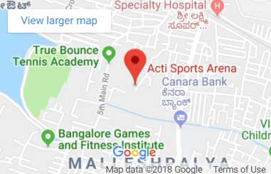 Acti Sports Arena Map